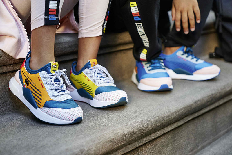 Kid Show-Inspired Playful Sneakers