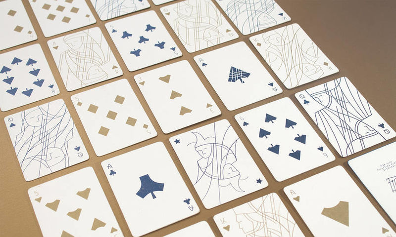 Minimalist Playing Cards