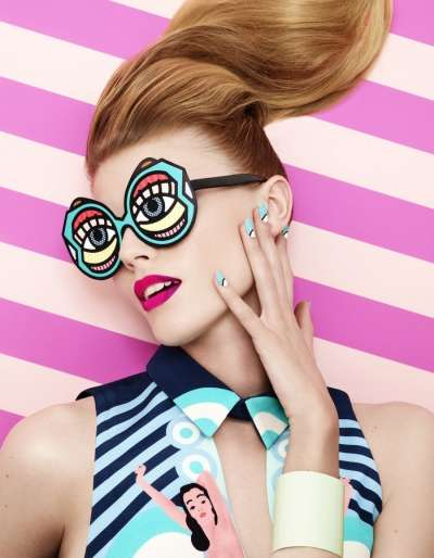 Pop Art Beauty Editorials