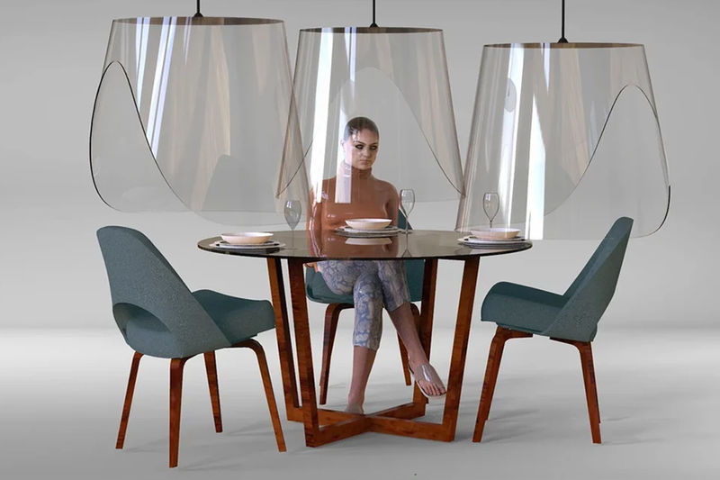 Social Distancing Dining Shields