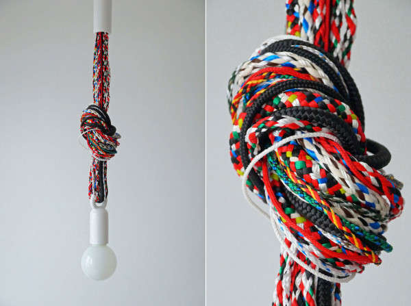 Colorfully Knotted Lighting