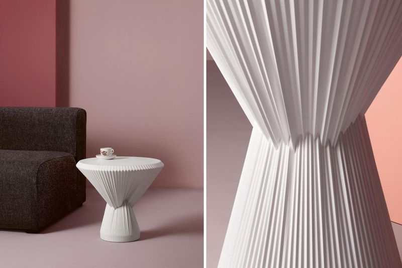 Illusionary Ceramic Side Tables