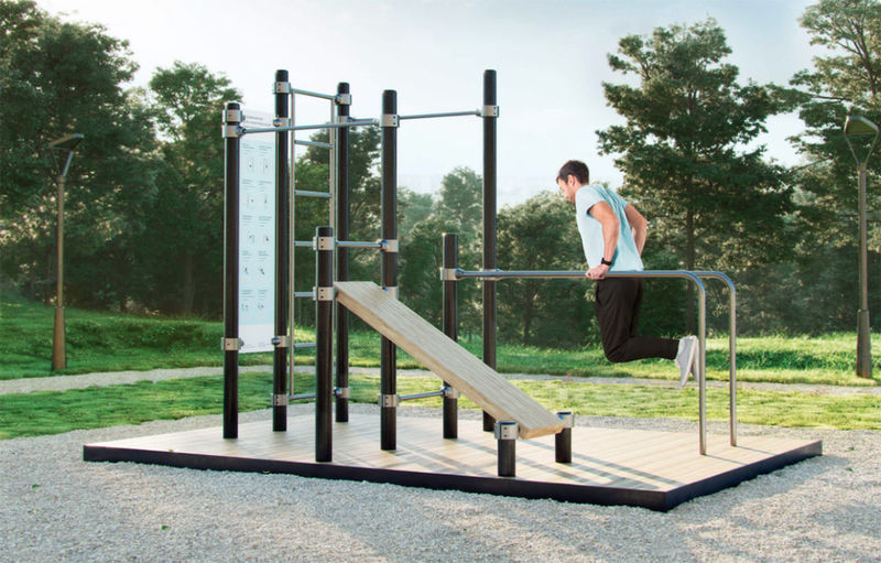 Adult Workout Playgrounds