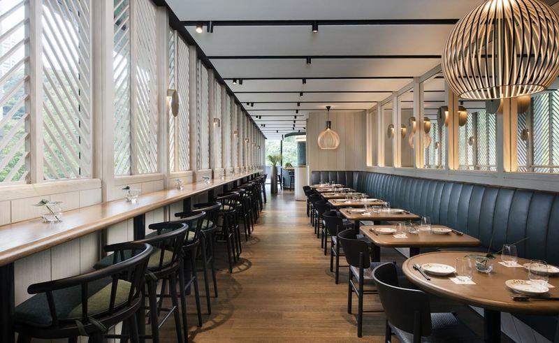 Luxe Elongated Restaurants