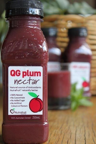 Antioxidant Plum Nectars
