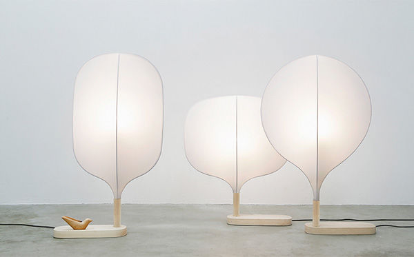 Beautiful Plume Lamps