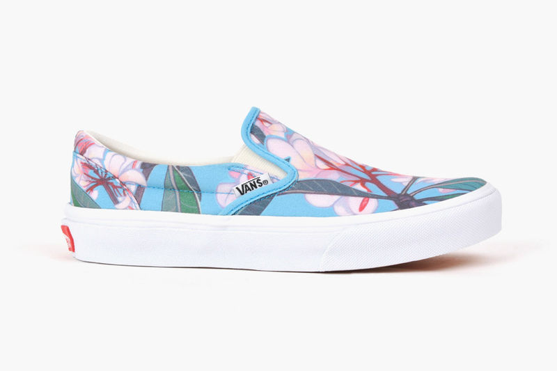 Blossoming Slip-On Sneakers