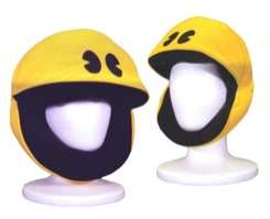 Plush PacMan Hat for Nostalgia Geeks