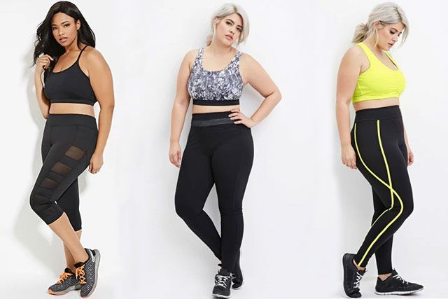 Versatile Plus-Size Activewear