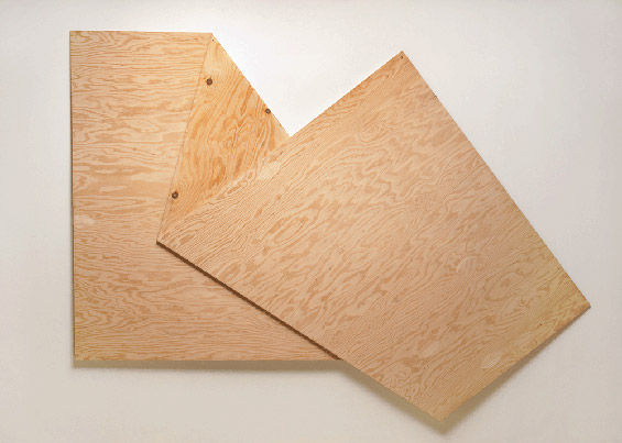 Illusory Plywood Art