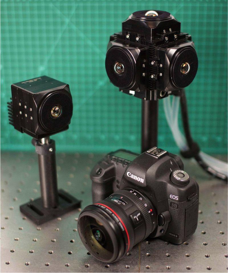 Compact VR Camera Concepts