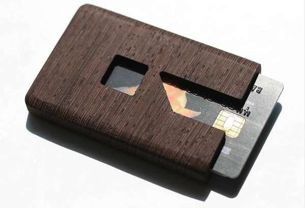 Exquisite Wooden Wallets