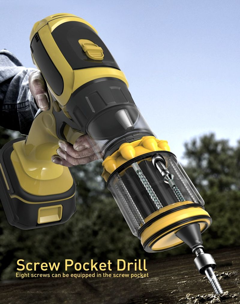 Screw-Encapsulating Power Drills