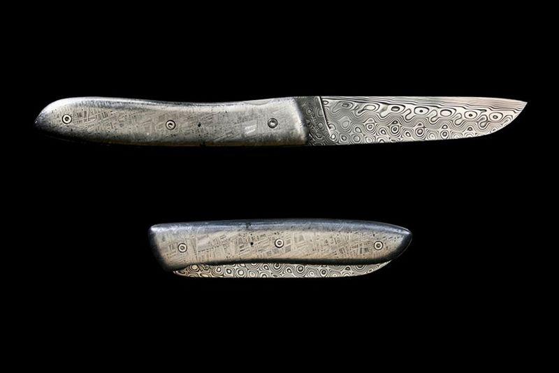 Meteorite Pocket Knives