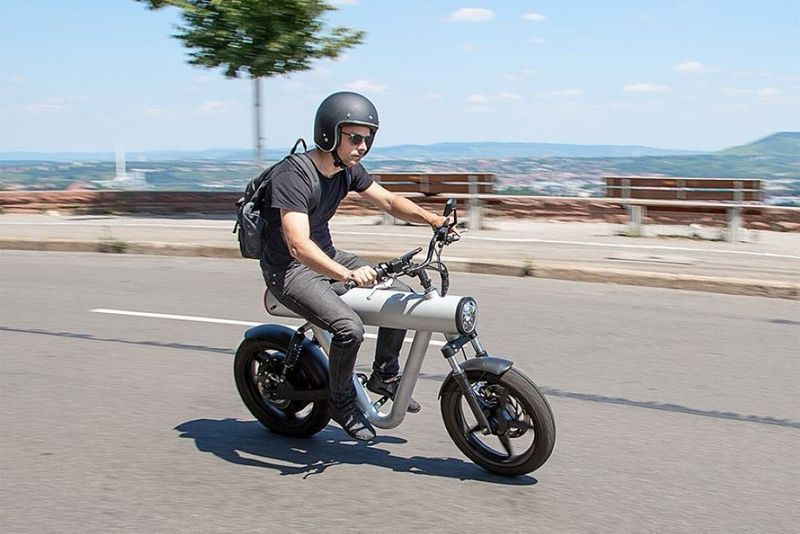 Tubular Electric Bicycle Designs : Pocket Rocket electric bike
