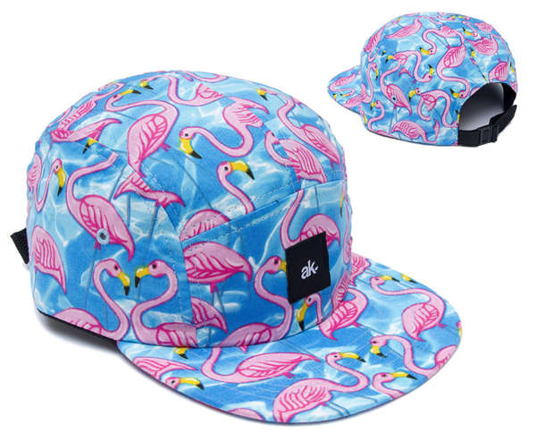 Flamingo-Patterned Attire