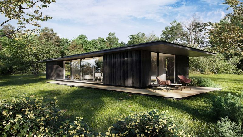Tiny Residential Cabin Homes