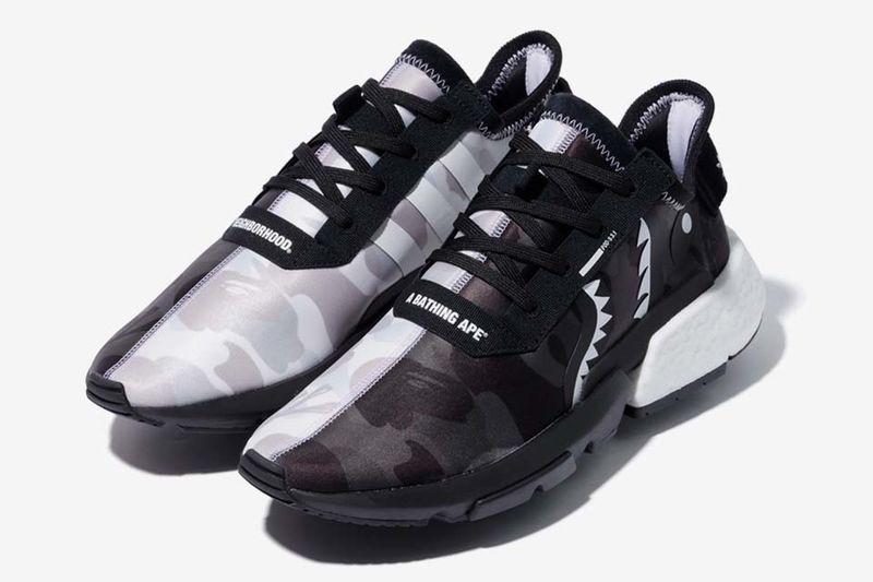 Monochromatic Camo Sneakers