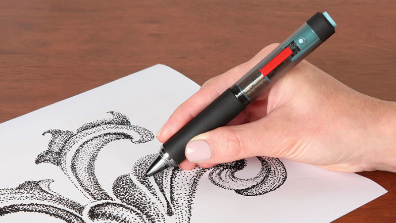 Vibrating Pointillism Pens