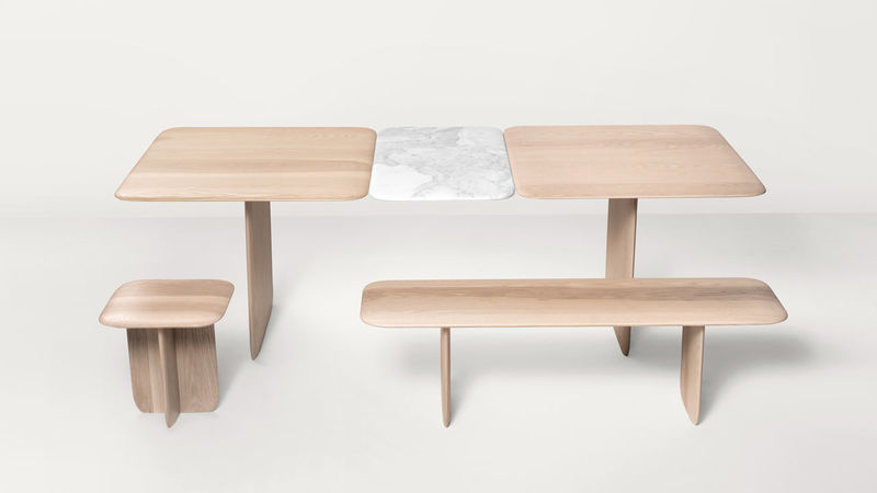 Wood-Marble Furniture