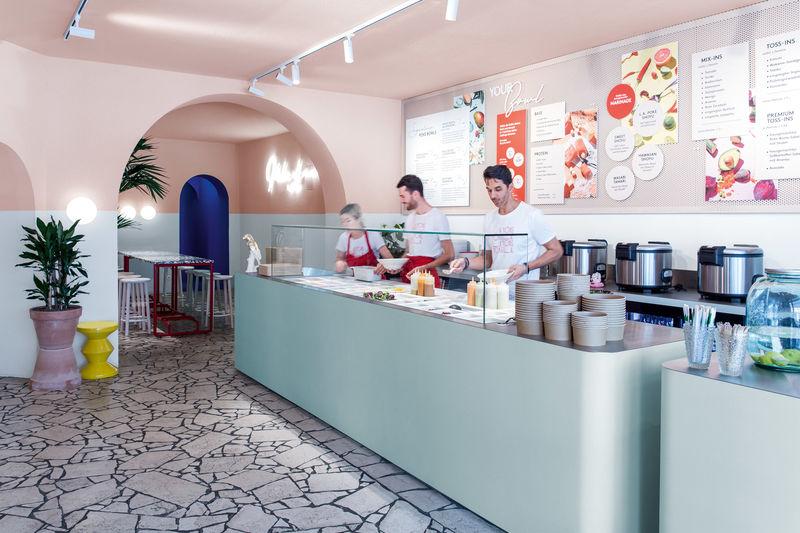 Pop Art-Inspired Poke Restaurants
