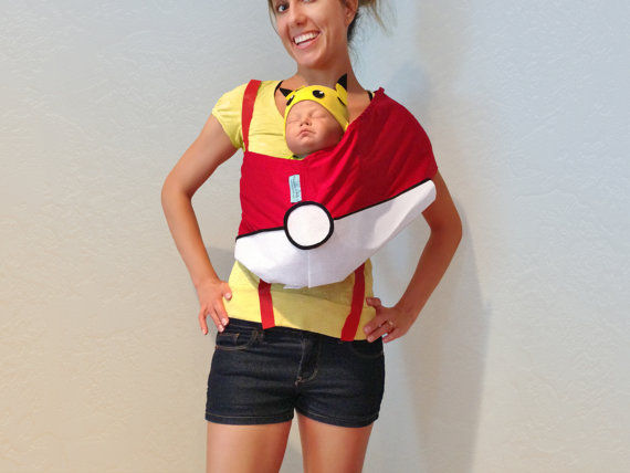 Anime-Inspired Pair Costumes : Pokemon Halloween Costume