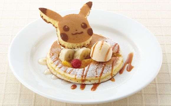 Anime Monster Pancakes
