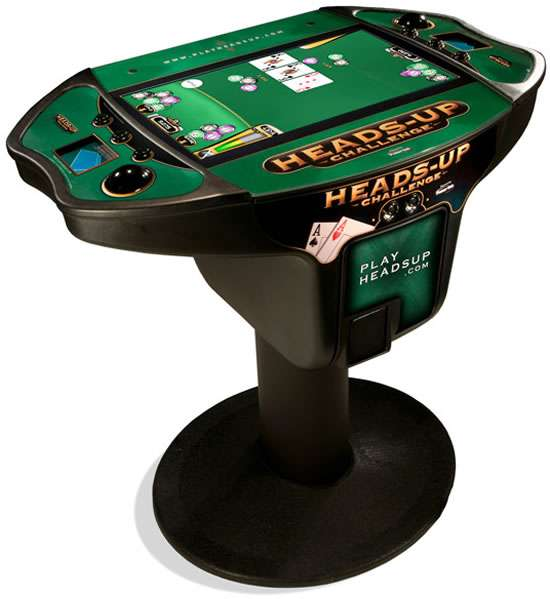 Touchscreen Texas Hold 'Em Tables