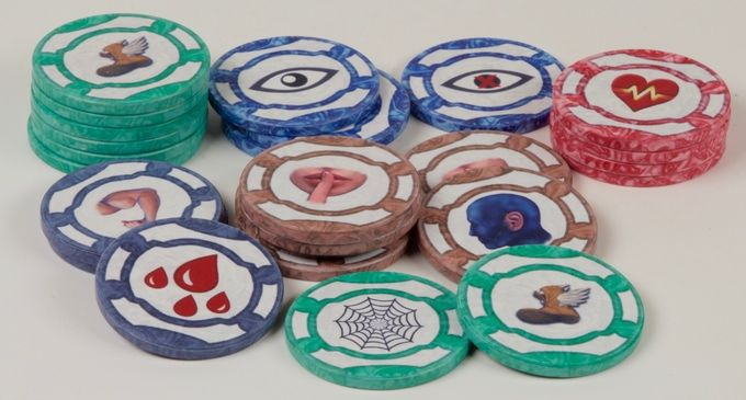 Multipurpose Board Game Tokens