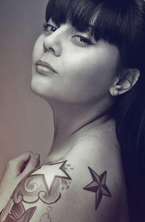 Feminine Tattooed Portraits
