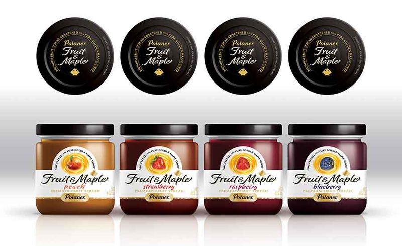 Maple-Infused Fruit Spreads