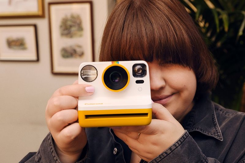 Instant Vintage-Inspired Polaroid Cameras