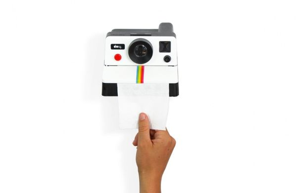 Retro Camera Bathroom Accessories