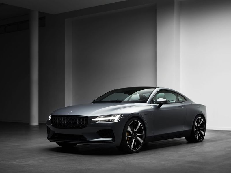 luxury hybrid vehicles polestar 1 coupe. Black Bedroom Furniture Sets. Home Design Ideas