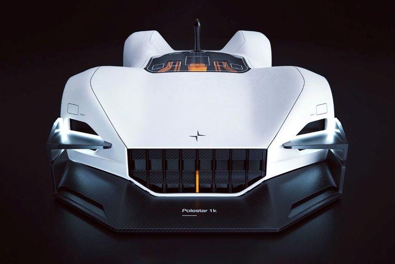 Futuristic Robotic Racing Vehicles