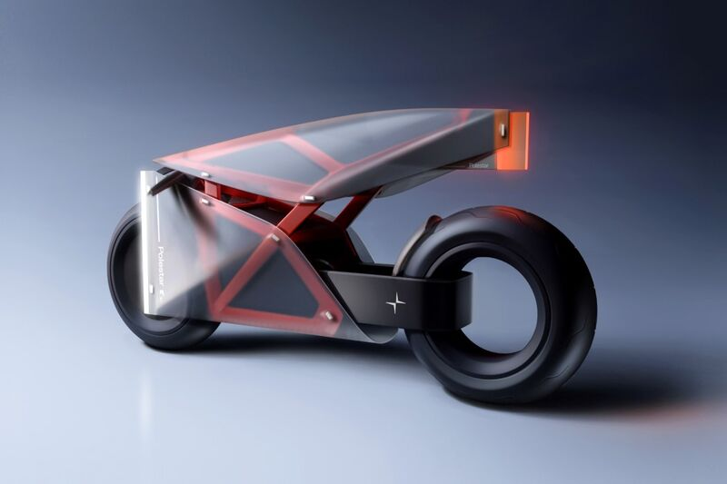 Translucent Exterior Motorcycles