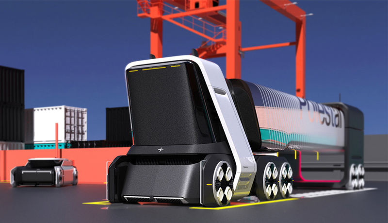 Modular Electric Shipping Vehicles