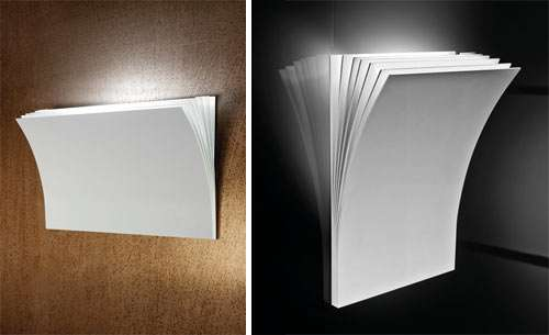 Paper Stack Lighting Polia Wall Sconce