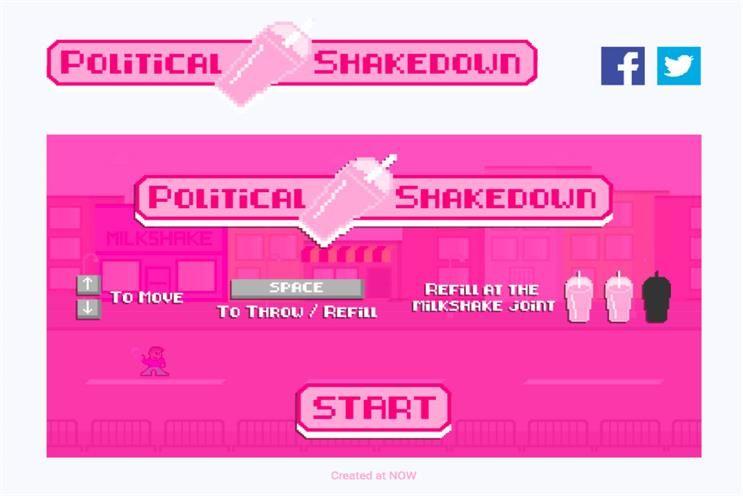 Milkshake-Throwing 8-Bit Games