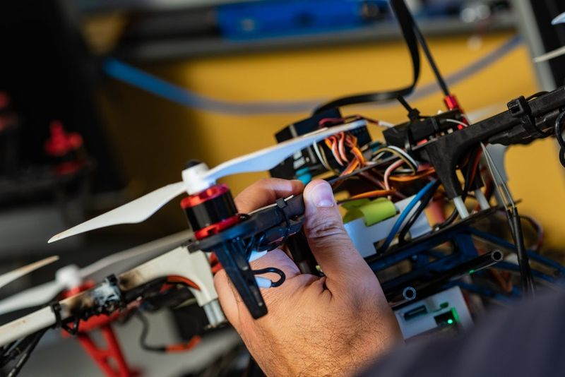 Pollution-Mapping Drones