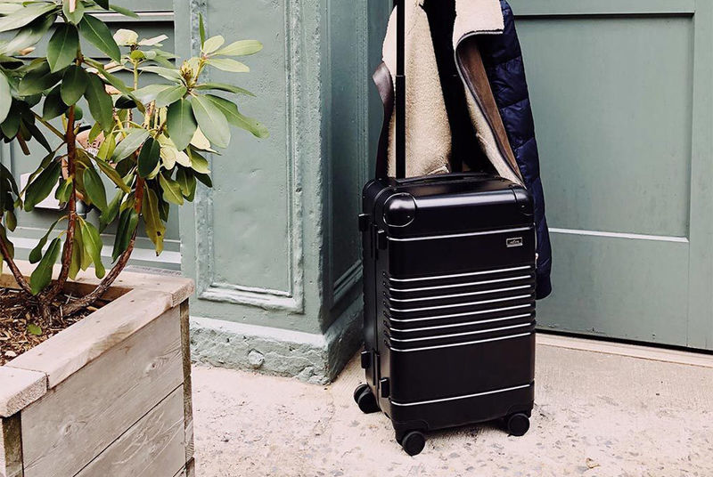 Compact Tech-Focused Luggage