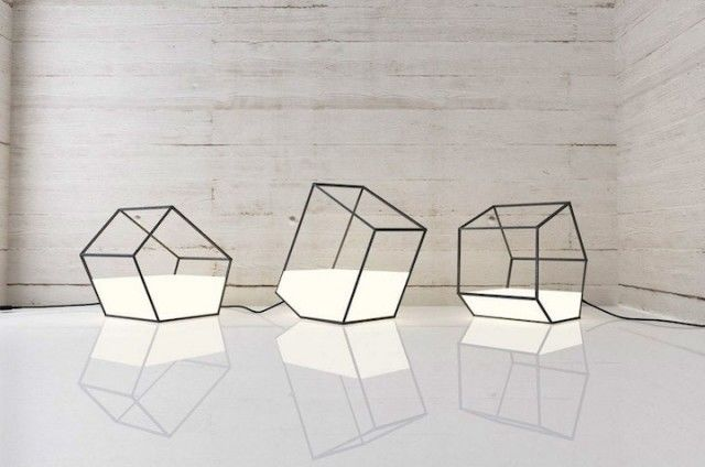 Polygonal Lamp Designs