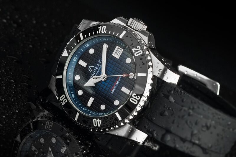Accessible Diver Timepieces