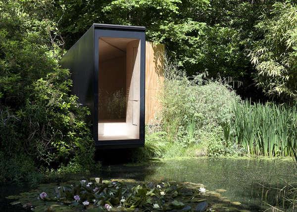 Serene Pond Abodes