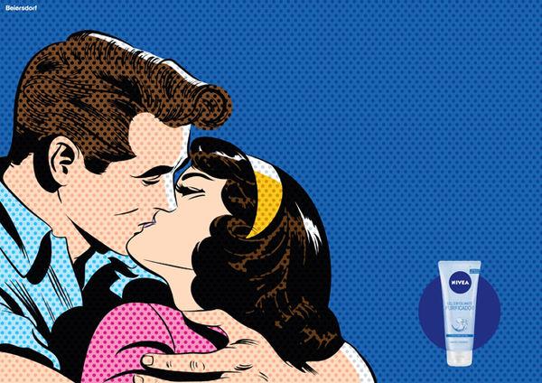 Artsy Blemish Free Ads Pop Art Ad