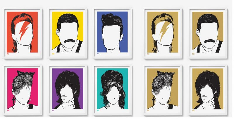 Minimalist Pop Culture Art