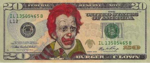 Celebrity-Faced Dollar Bills