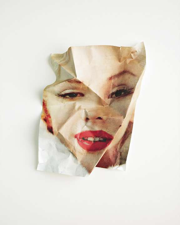 Crumpled Celebrity Portraits