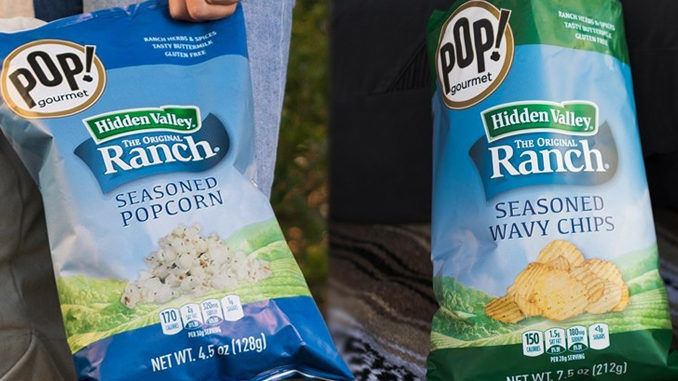 Iconic Dressing-Flavored Snacks