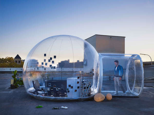 Transparent Bathroom Igloos